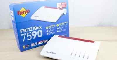 AVM FRITZ!Box 7590 High End WLAN Router AC+N (MODEL: 2000 2784)