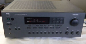 NAD AV-716 SURROUND SOUND AND STEREO RECEIVER
