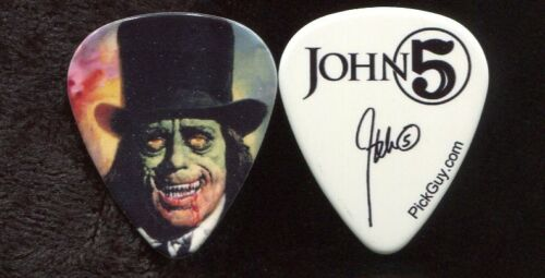 ROB ZOMBIE 2017 Tour Guitar Pick!! JOHN 5 custom concert stage MARILYN MANSON 21