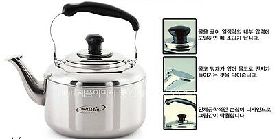 Stainless Steel Whistle Kettle Solid & Light Whistles When Boiled Queen Sense