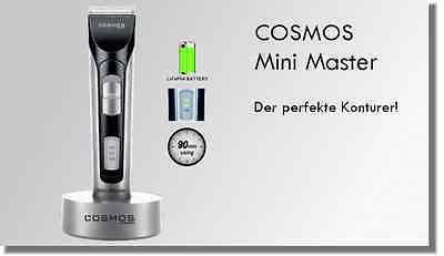 Haarschneidemaschine COSMOS Mini Master Konturen - und Barthaarschneider