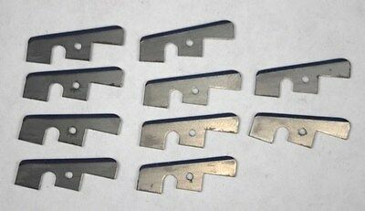 10 Old Style Automatic Taper Blades Tapetech Tapemaster Northstar Drywall Tool
