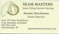 Seam Masters - Seamfilling and Interior Painting