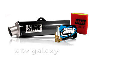 HMF Performance BLACK Full Exhaust +Jet + Uni Filter Kawasaki Brute Force 750 05