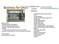Takeaway/restaurant/fast food for Sale! BUSINESS FOR SALE