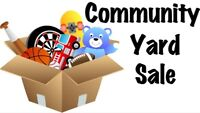 Caledonia Home Owners Association Annual Community Yard Sale