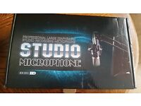 NEW studio microphone PLUS anti noise filter