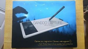 Bamboo Capture Tablet & Pen (photo editing, painting, drawing)