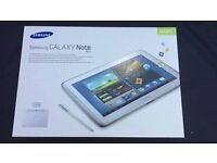 Samsung Galaxy Note 10.1 Boxed.. excellent condition