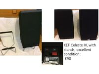 KEF Celeste IV, with stands, excellent condition
