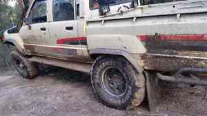 1988 toyota hilux 4x4 twin cab rebuilt engine Sebastopol Ballarat City Preview