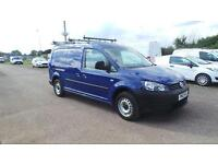Volkswagen Caddy MAXI 1.6TDI 102PS VAN DIESEL MANUAL BLUE (2012)