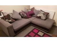 Grey Corner Sofa SCS
