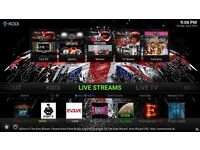 Fully Loaded Tv Box With Live Tv Sports Movies Asian Channels New Movies Same As Fire stick 7,6