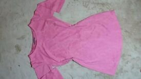 £6 Size 10, pink dress, can post it for free