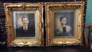 2 Incredible antique framed paintings