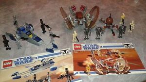 Ensemble de 2 kit de legos Star Wars