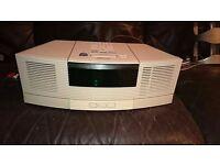 Bose Wave Radio Cd Player and Pedestal