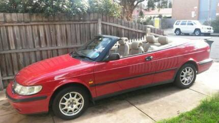1999 Saab 9-3 Convertible - low KMs Coburg North Moreland Area Preview