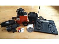Sony a290 Camera & lot's of Accessories