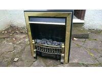 Burley electric fireplace