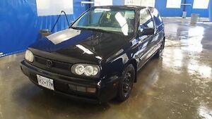 1997 Volkswagen Golf Coupe (2 door)