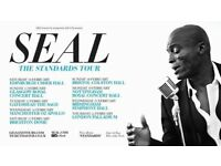 Seal-tickets Usher hall - 10th February