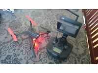 FTP Ready Quadcopter with Screen