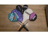 Tennis Rackets, Badminton Rackets & Table Tennis Bats Bundle
