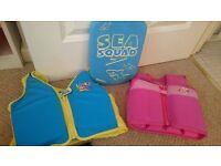 2-3 year swim vests