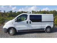 Renault Trafic Van converted to Camper