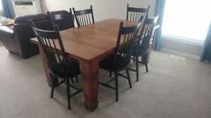 One of a kind HARVEST TABLE