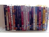 22 mixed dvds
