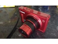 Canon Powershot SX610HS 20.2 megapixel HD wifi camera 18x optical zoom