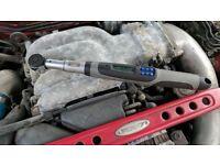 Torque Wrench BAHCO IZO-DM-30 3-30nm 1/4in precision tool