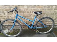 Ladies Raleigh Mountain Bike with 10 speed gears
