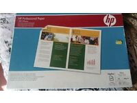 Brand New pack of HP professional photo paper A3 size