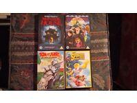 Cartoon DVDs