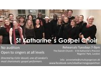 Gospel Choir looking for new singers, all levels, no auditions, professionel conductor and pianist
