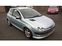 bargain peugeot 206 hdi dturbo 3 door px welcome £495