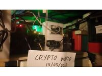 Selling Mining Operation 6x Antminer S9, 1 L3+ (3 Hashing Boards)