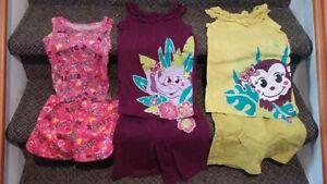 Ensemble de vêtements pour enfants linge pour fille