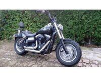 Harley Davidson FDFX Fat Bob 96 Cube 1584cc.