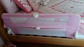 pink bed rails