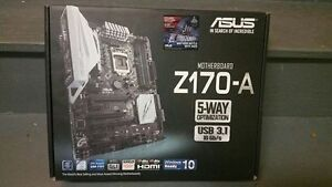 Asus Z170-A ATX Mother Board LGA1151