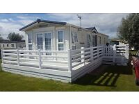 GREATLY REDUCED - WHITE PVC DECKING, STEPS AND ASTRO TURF - COST OVER £3,500