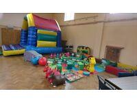 softplay bouncy castles