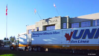 Empty Moving Van returning to Lower Mainland -Vancouver Island