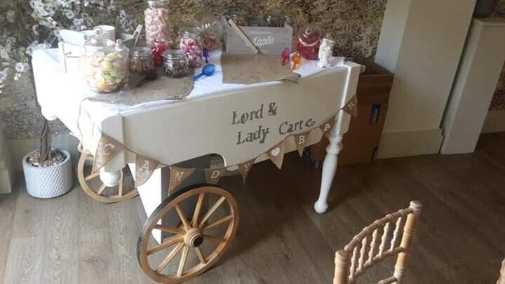 Candy Cart Display