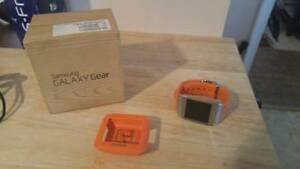 Samsung Galaxy Gear Watch With Charger And Box!